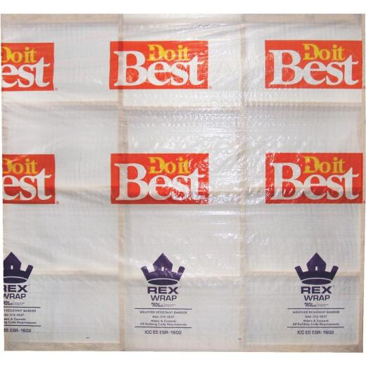 Do it Best REX Wrap 9 Ft. x 100 Ft. House Wrap