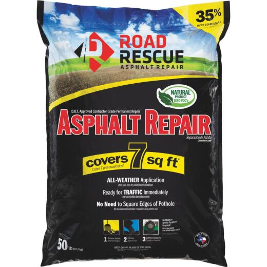 Road Rescue 50 Lb. Blacktop Patch Asphalt Repair