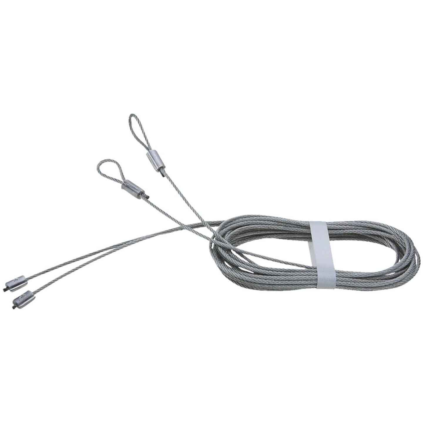 National 8 Ft. 8 In. L. x 3/32 In. Dia. Steel Garage Door Torsion Lift Cable Image 1