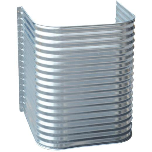 Lux-Right 48 In. x 42 In. Egress Galvanized Window Well