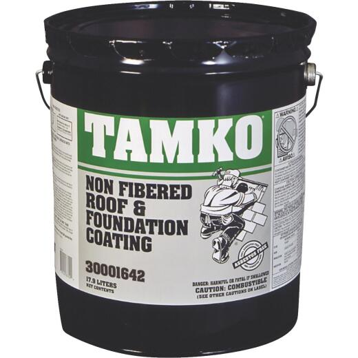 Tamko 5 Gal. Non-Fibered Roof And Foundation Coating