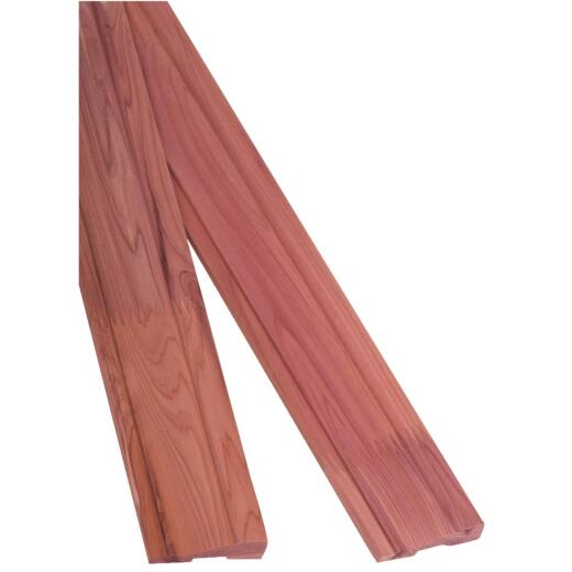 CedarSafe 2-1/4 In. W. x 9/16 In. H. x 8 Ft. L. Aromatic Eastern Red Cedar Base/Casing Molding (2-Pack)