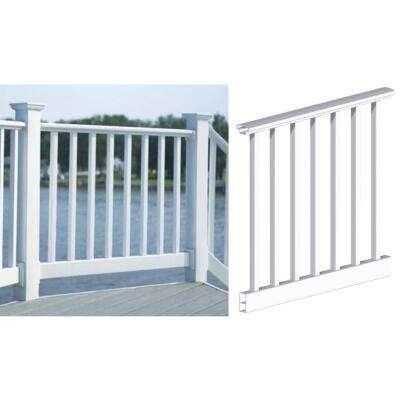 RDI 36 In. H. x 6 Ft. L. Vinyl Original Railing