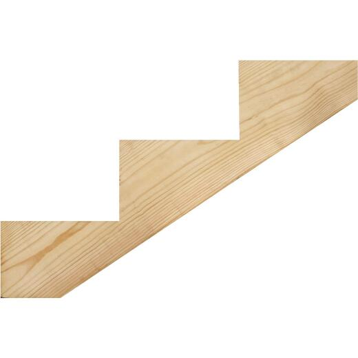 Kitzmans 2 In. x 10 In. 3-Step Treated Precut Stair Stringer