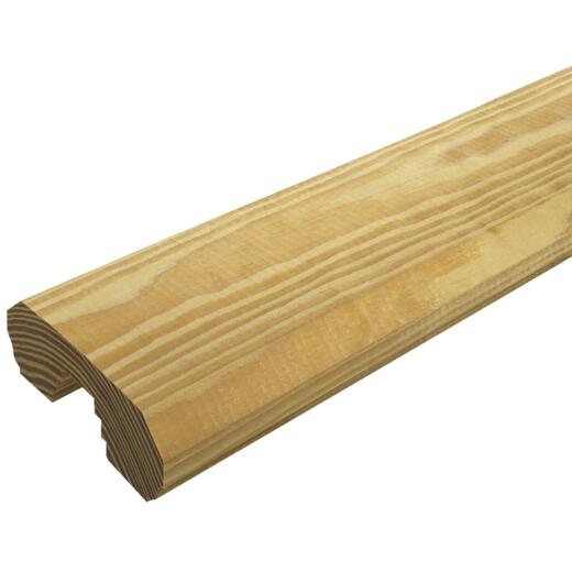 Prowood 2 In. x 4 In. x 8 Ft. Natural Treated Wood Deck Handrail