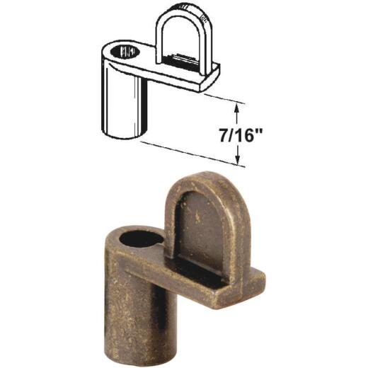 Prime-Line 7/16 In. Bronze Swivel Die-cast Screen Clips With Screws (12 Count)