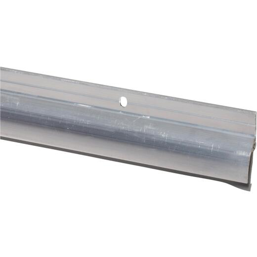 M-D 1-7/8 In. x 36 In. Silver Drip Cap Door Sweep