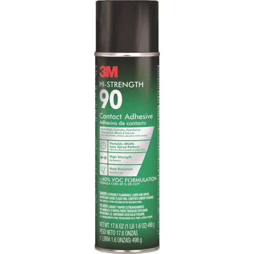 3M Hi-Strength 90 17.6 Oz. Spray Adhesive (California Compliant)