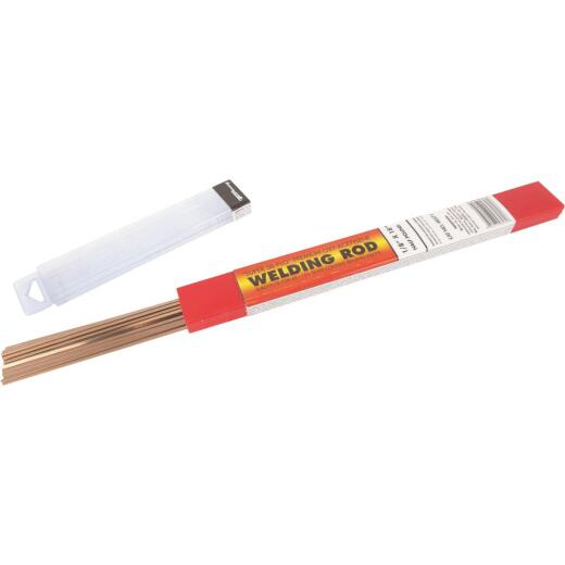 Forney 1/8 In. x 18 In. Super Sil-Flo Brazing Rod, 1/2 Lb.