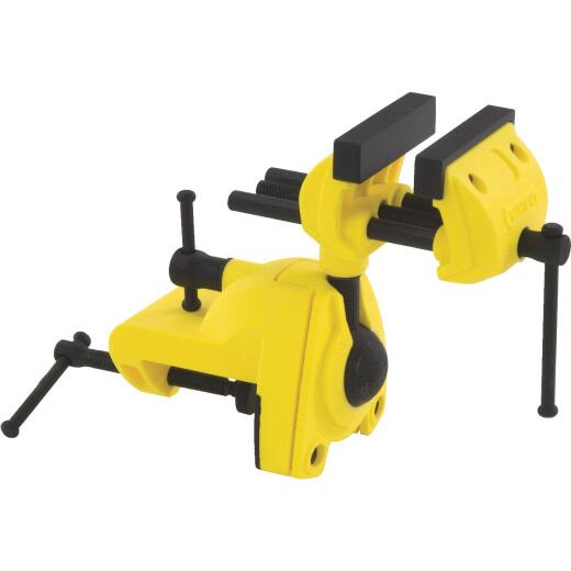 Stanley MaxSteel 2-1/2 In. Multi-Angle Clamp-On Vise