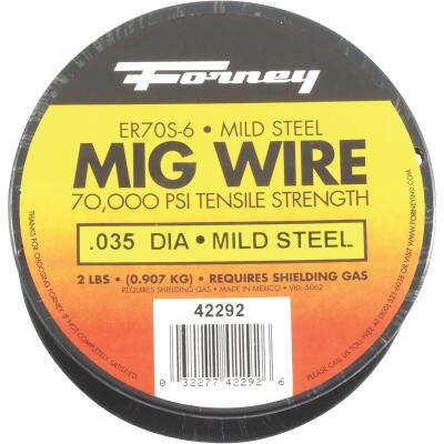 Forney ER70S-6 Mild Steel Mig Wire, 0.035 In., 2 Lb.