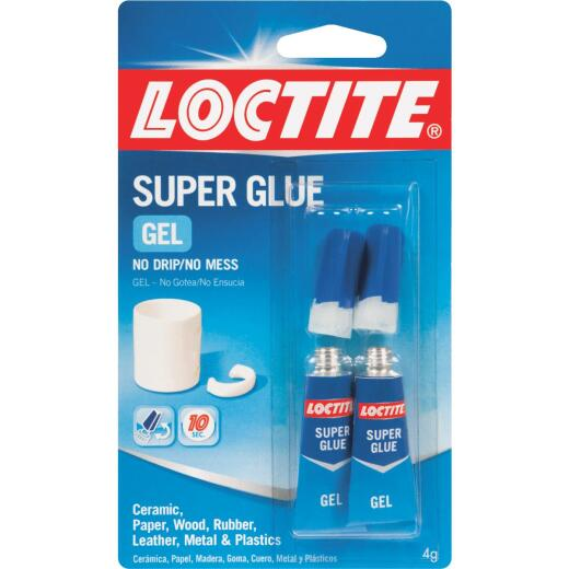 LOCTITE 0.07 Oz. Super Glue Gel (2-Pack)