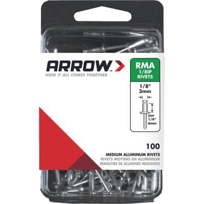 Arrow 1/8 In. x 1/4 In. Aluminum IP Rivet (100 Count)