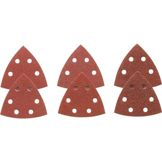 Bosch 60, 120, 240 Grit Triangle Sandpaper (6-Pack)