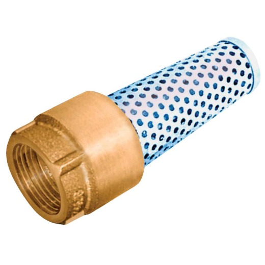 Simmons 1 In. 200 psi Bronze Foot Valve, Lead Free