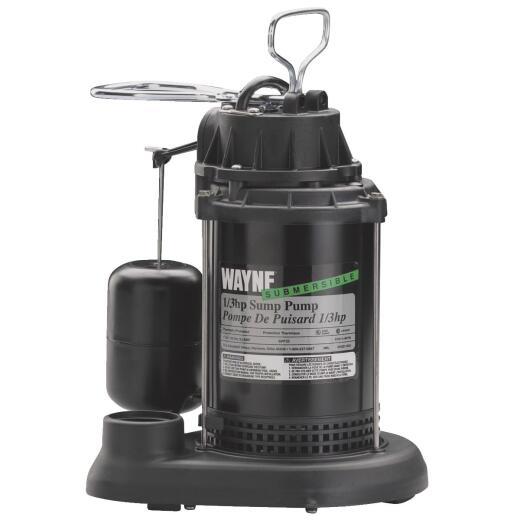 Wayne SPF Series 1/3 HP 115V Submersible Sump Pump