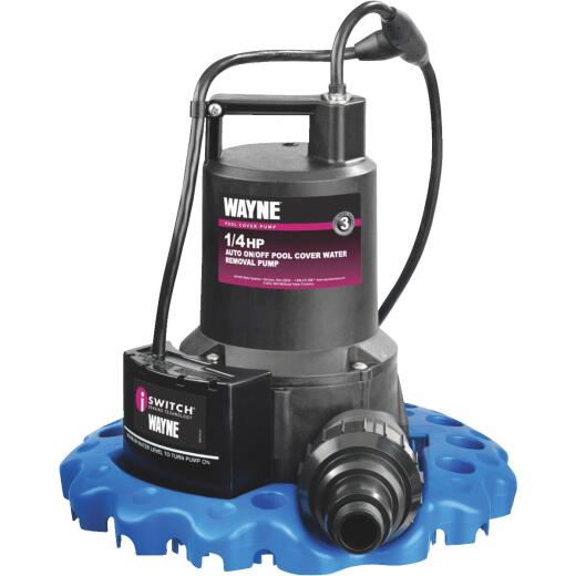 Wayne 1/4 HP 1-1/4 In. Pool Cover Pump