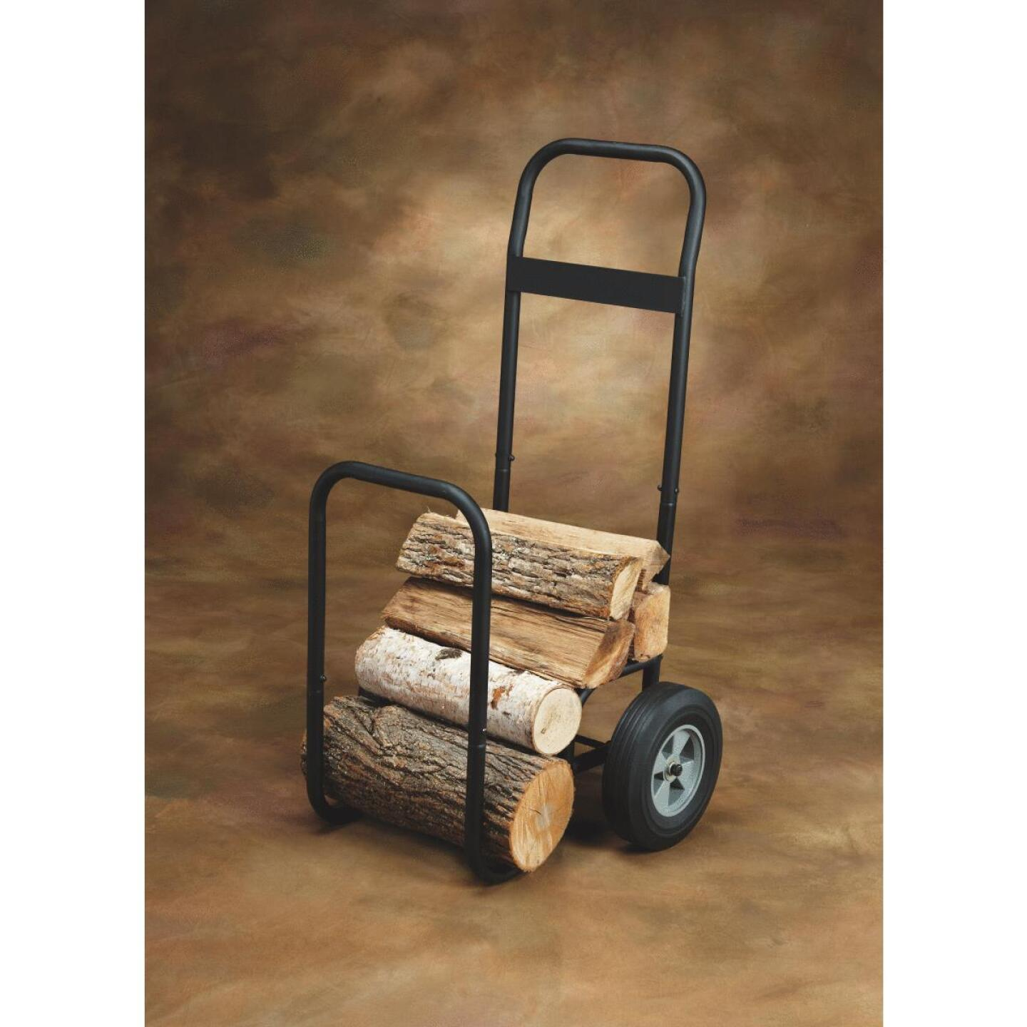 Home Impressions 21 In. W. x 40-1/2 In. H. Steel Log Cart Image 2