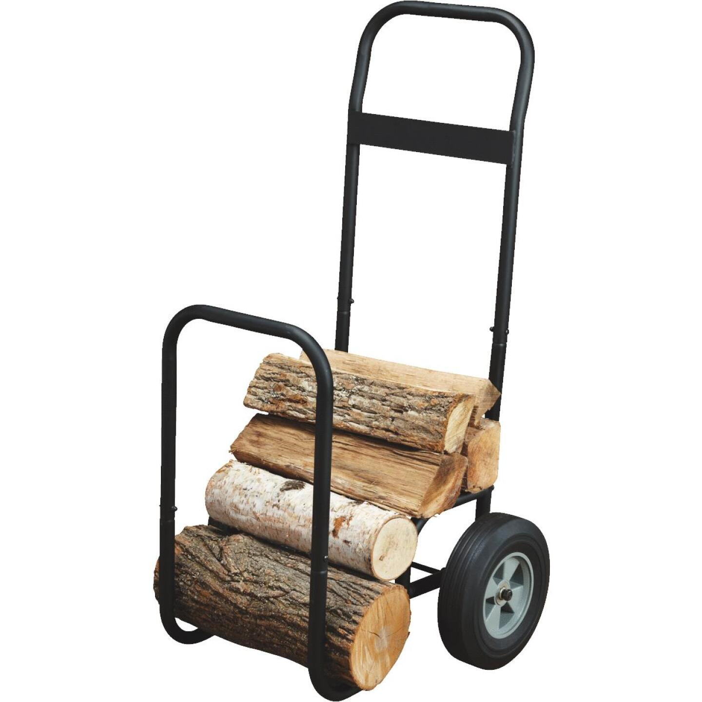 Home Impressions 21 In. W. x 40-1/2 In. H. Steel Log Cart Image 4