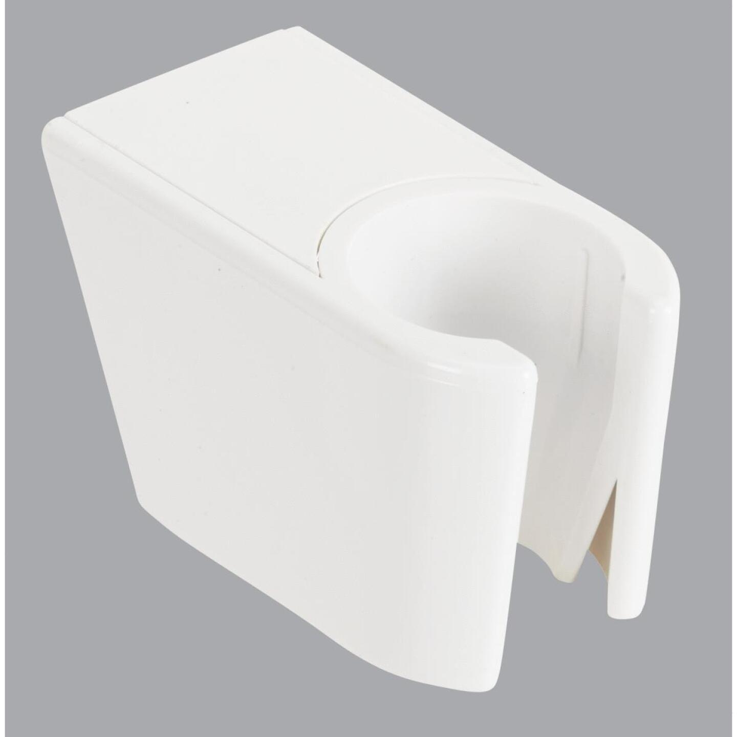 Do it White Plastic Shower Wall Mount Image 1