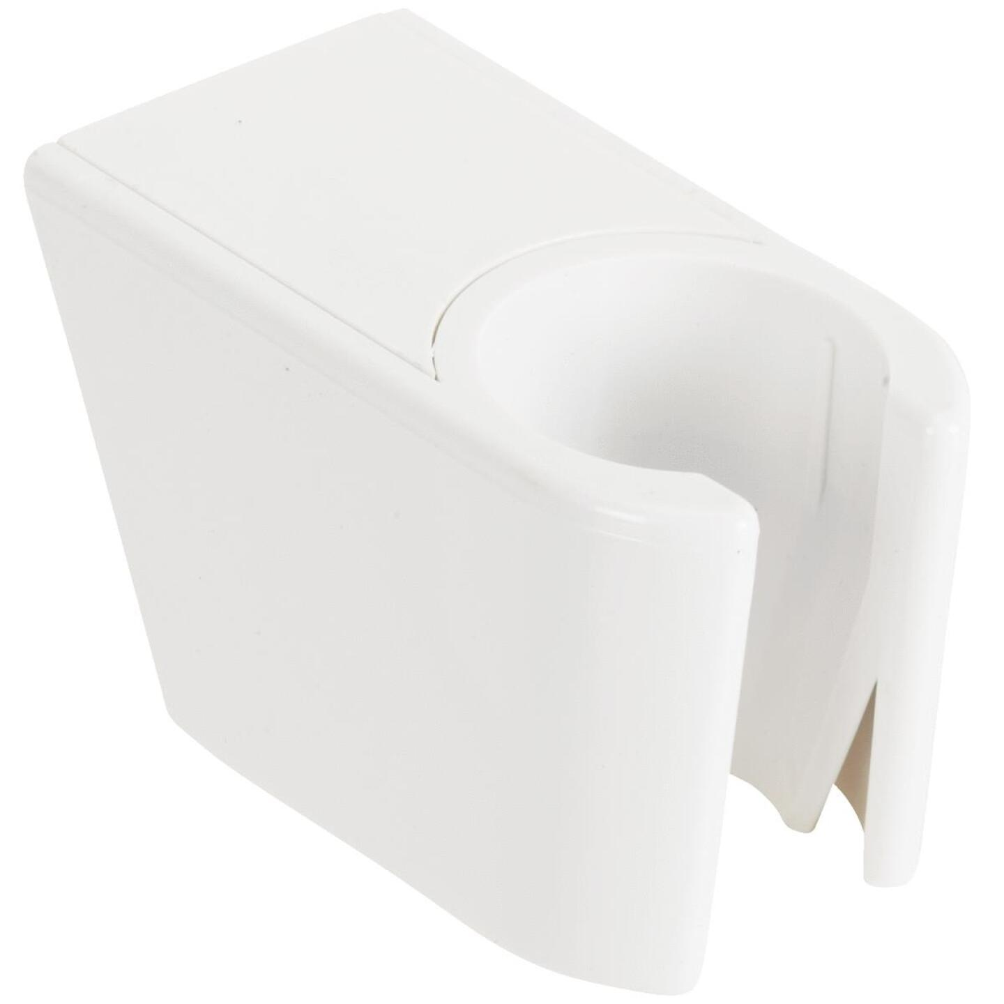 Do it White Plastic Shower Wall Mount Image 2