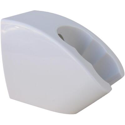 Lasco White Plastic 3-Position Wall Mount Shower Bracket