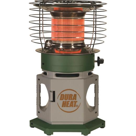Dura Heat 18,000 BTU Radiant Double Tank 360 Degree Propane Heater