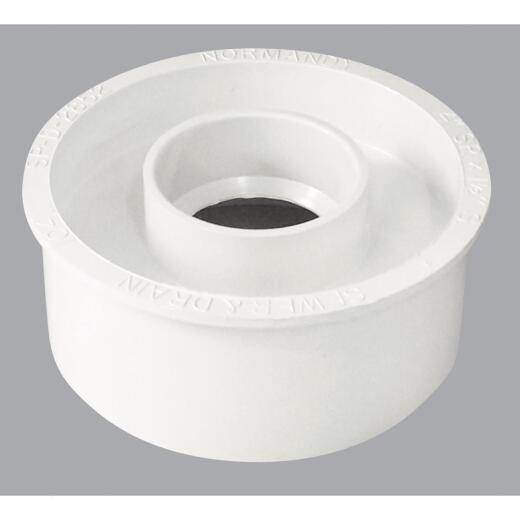 IPEX Canplas Schedule 40 4 In. to 1-1/2 In. PVC Sewer and Drain Bushing