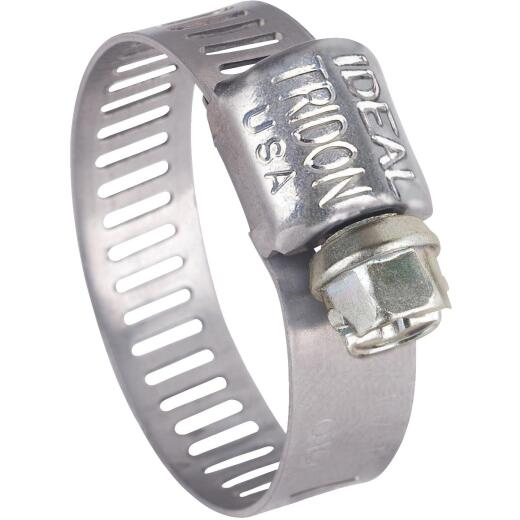 Ideal 5/16 In. - 5/8 In. All Stainless Steel Micro-Gear Hose Clamp