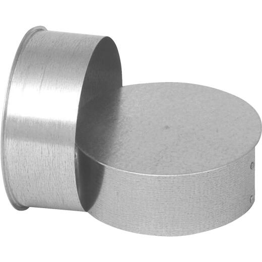 Imperial 30 Ga. 6 In. Galvanized Tee Cap/Plug
