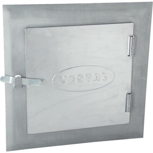 Vestal 8 In. x 8 In. Unpainted Galvanized Steel Cleanout Door