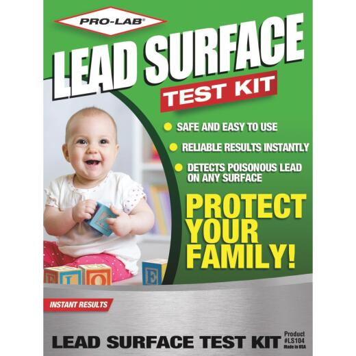 Pro Lab Instant Results Test Strips Lead Surface Test Kit (6-Pack)