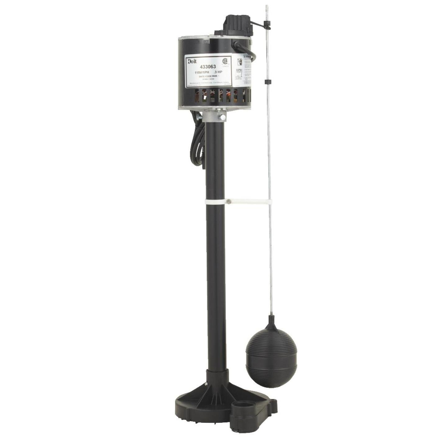 Do it 1/3-HP Thermoplastic Pedestal Sump Pump Image 1