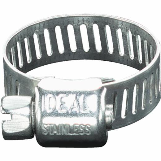 Ideal 5/16 In. - 7/8 In. All Stainless Steel Micro-Gear Hose Clamp
