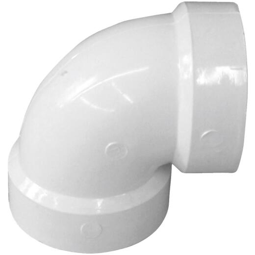 Charlotte Pipe 2 In. 90D PVC Vent Elbow
