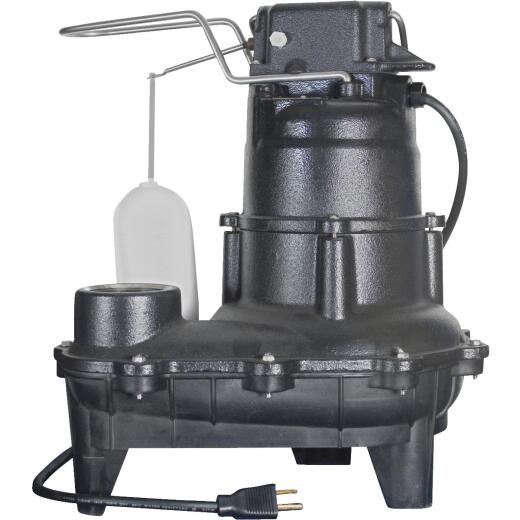 Do it Best 4/10 H.P. Cast Iron Sewage Ejector Pump