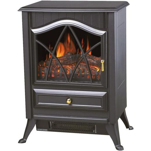 Comfort Glow Ashton Dual Power Steel Electric Stove