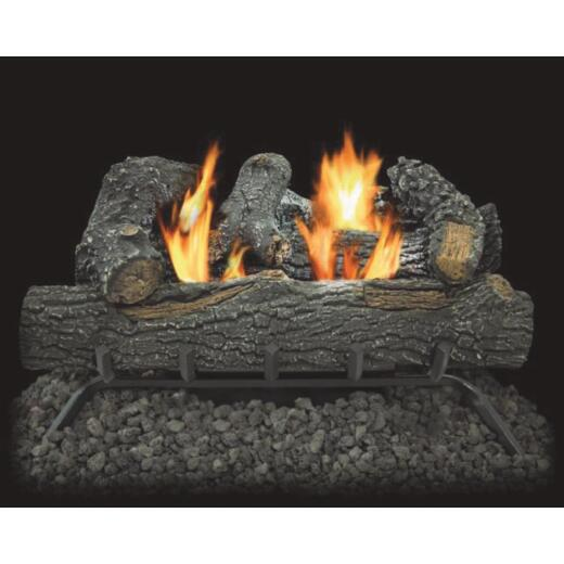 Comfort Glow 24 In. L 30,000 BTU Black Forest Vent-Free Gas Logs