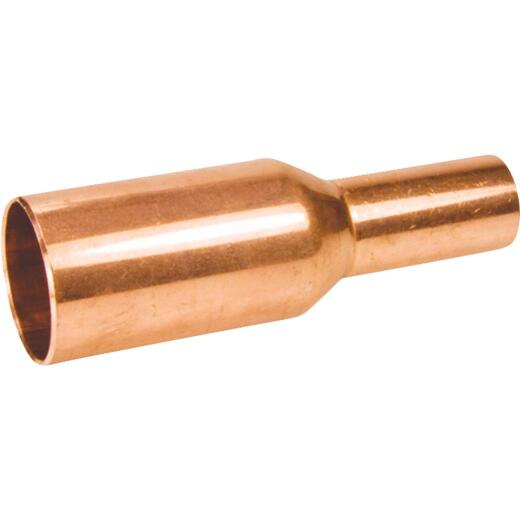 Mueller Streamline 1 In. X 3/4 In. FTxC Copper Reducing Coupling