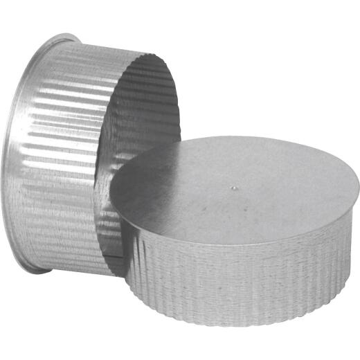 Imperial 30 Ga. 3 In. Galvanized Tee Cap/Plug