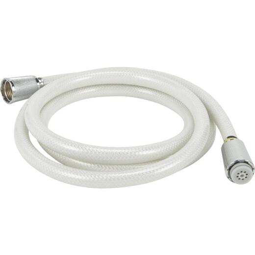 Home Impressions White 72 In. Shower Hose