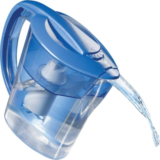 Culligan 8-Cup Water Filter Pitcher, Blue