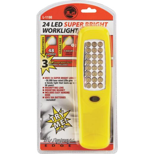 Designers Edge 48 Lm. LED Handheld Work Light