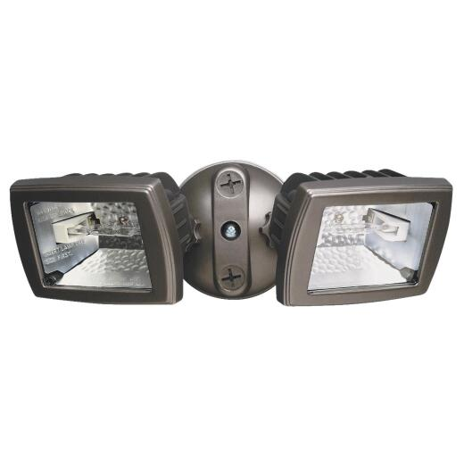 Designers Edge Brown Halogen Floodlight Fixture