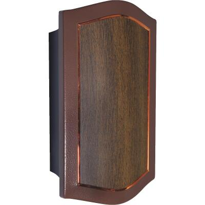 IQ America Designer Series Mahogany Laminate Wired/Wireless Door Chime