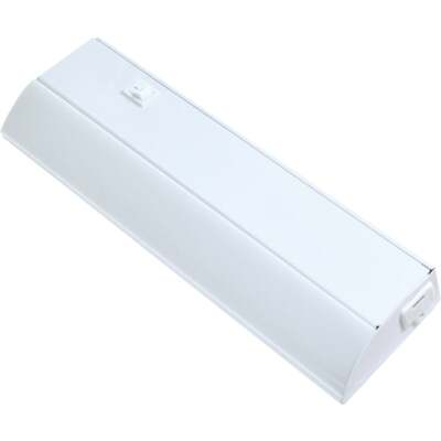 Good Earth Lighting Ecolight 12 In. Direct Wire White LED Under Cabinet Light Bar