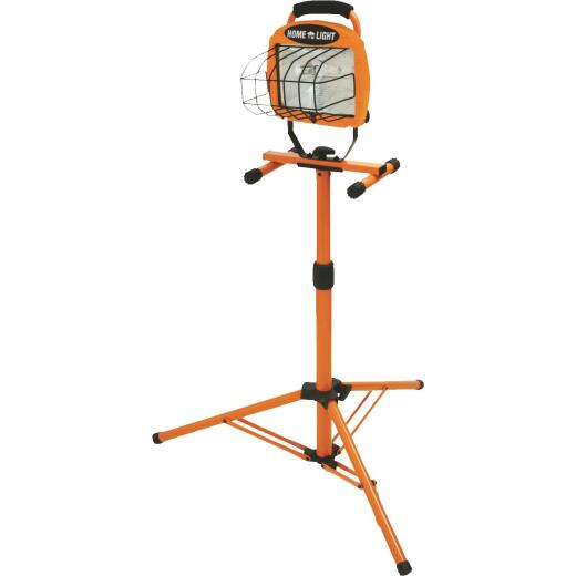 Designers Edge Home Light 8000 Lm. Halogen Tripod Stand-Up Work Light