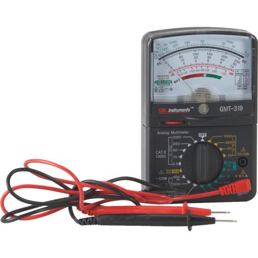 Gardner Bender 7-Function Analog Multimeter