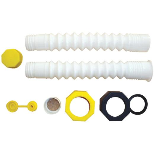 Hi-Flo 8 In. - 16 In. Water Can Spout Kit