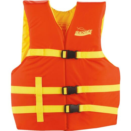 Seachoice Adult Type III & USCG 90 Lb. & Up Life Vest